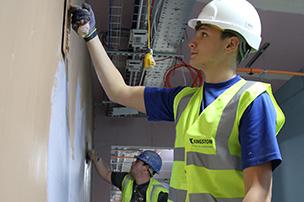 drylining company plastering