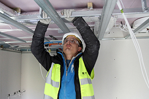 drylining company suspended ceilings